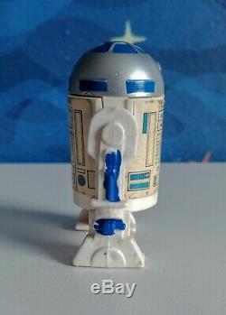 Vintage Star Wars 1988 GLASSLITE Brazil R2D2 Robot figure ULTRA RARE