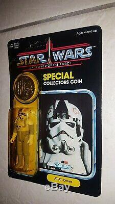Vintage Star Wars MOC POTF AT-AT Driver Ultra Rare