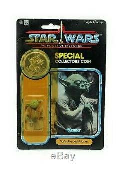 Vintage Star Wars POTF YODA MOC Ultra Rare check out the condition
