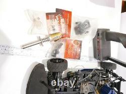 Vintage Traxxas Nitro 4-Tec 1/10 scale 2 Speed 4 wheel drive Ultra Rare + Extra