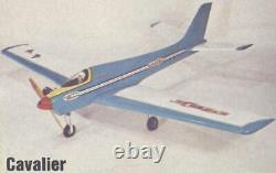 Vintage / ULTRA RARE 1970 Pilot / OK Models Cavalier. 60 R/C Airplane Kit MIB