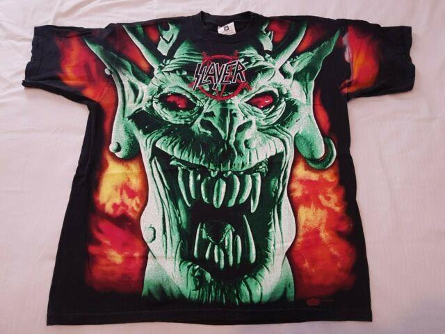 Vintage Ultra Rare Slayer T Shirt Xl