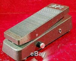 Vintage Ultra Rare 1966 German Hofner Halifax Wah-Pedal with Transistor BC172b TOP