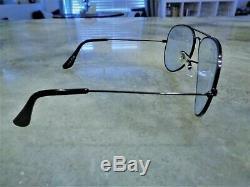 Vintage Ultra Rare Bausch Lomb Ray-Ban Z0520 VYAS Shooter Aviator Sunglasses B&L