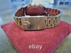 Vintage Ultra Rare Bulova Accuquartz Diamond Cal 2422 Watch Bullet Band Accutron