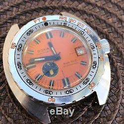 Vintage Ultra Rare Holy Grail 1967 Doxa Sub 300 Professional Black Lung