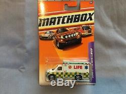 Vintage Ultra Rare Holy Grail Private Label Matchbox Life E. M. S. Ambulance Mib