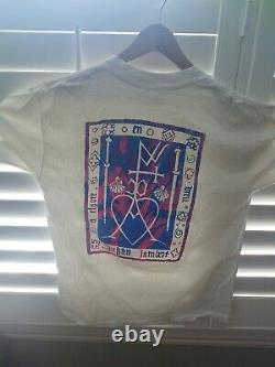 Vintage Ultra Rare Indie L Galaxie 500 T Shirt Mint Condition Glow In The Dark