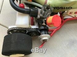 Vintage Ultra Rare Kyosho Go Kart Graupner Original Issue New Os Max Cart 10