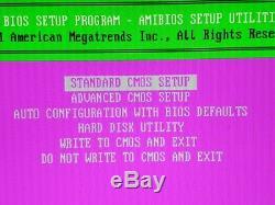 Vintage Ultra Rare Motherboard OCTEK JAGUAR V AMD386 DX-40 Tested! Working