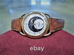 Vintage Ultra Rare Pulsar by Seiko Galileo V338-6000 V338 6000 Moon Phase Watch