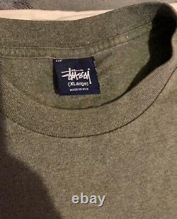 Vintage Ultra Rare Stussy Stucci shirt Skate Hip Hop 90s Spoof T-shirt