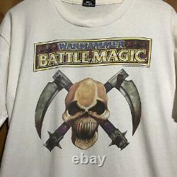 Vintage Warhammer Battle Magic 1992 Screen Stars Tshirt Size L ULTRA RARE
