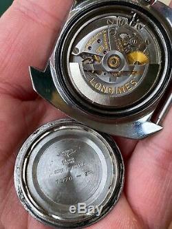 Vintage Watch Orologio Longines Ref 7970-2 Ultra Chron Oversize Diver Sub Rare