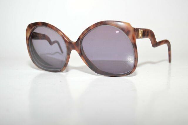 Vintage Yves Saint Laurent Sunglasses Frames Y. 34 Tortoise Paris Ultra Rare