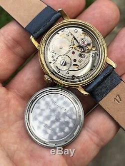 Vintage Zodiac Hermetic Dr Pepper Ultra Rare Mens Watch Swiss Cal. 64 33,8mm