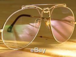 Vintage Zollitsch Maritime 5003 Gold Ultra rare cartier bugatti cazal sunglasses