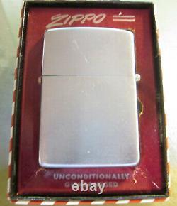 Vintage ultra rare 1950's NORTHROP AVIATION ZIPPO LIGHTER W BOX. SUPER CONDITION