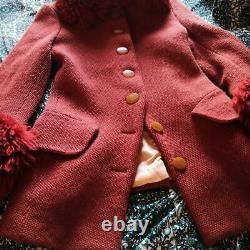 Vivienne Westwood Ultra Rare Vintage Fur Trim Coat Size M