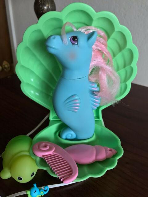 Vtg G1 My Little Pony Wave Jumper Sea Pony Seapony, Ultra Rare, Tlc Refurb