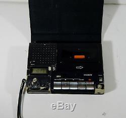 Vtg Sony Ultra Rare Cassette Recorder Tc-1100t Tc 1100 Walkman