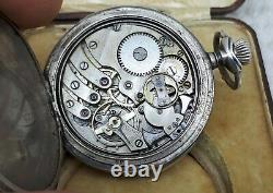 Wonderful Antique Minute Repeater High G Pocket Watch Sterling Silver Ultra Rare