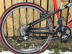 Yeti KoKoPelli Full Suspension VTG Downhill Mountain Bike RARE RED ULTRA LITE