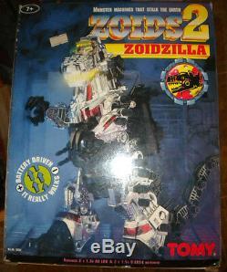 Zoids 2 Zoidzilla Godzilla Tomy 5952 Mib Mint Vintage Ultra Rare